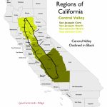 The Regionalization Of California, Part 2   California Valley Map