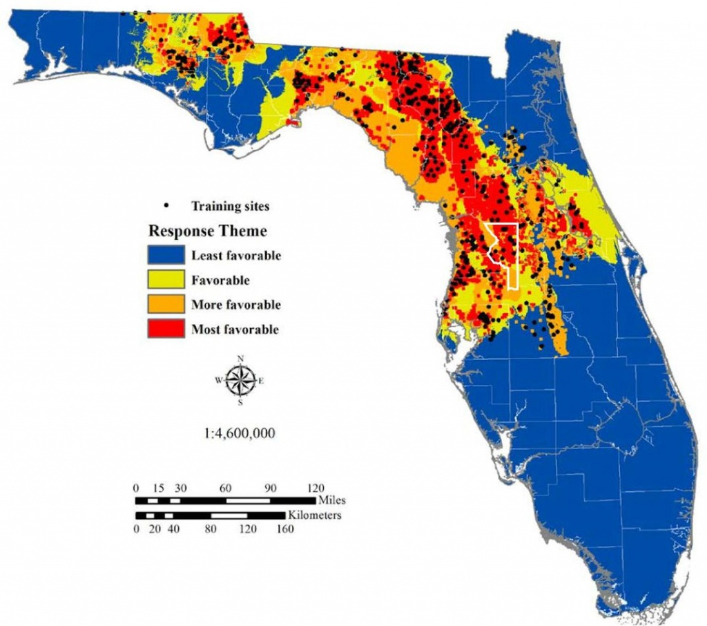 The Science Behind Florida's Sinkhole Epidemic | Science | Smithsonian - Map Of Spring Training Sites In Florida