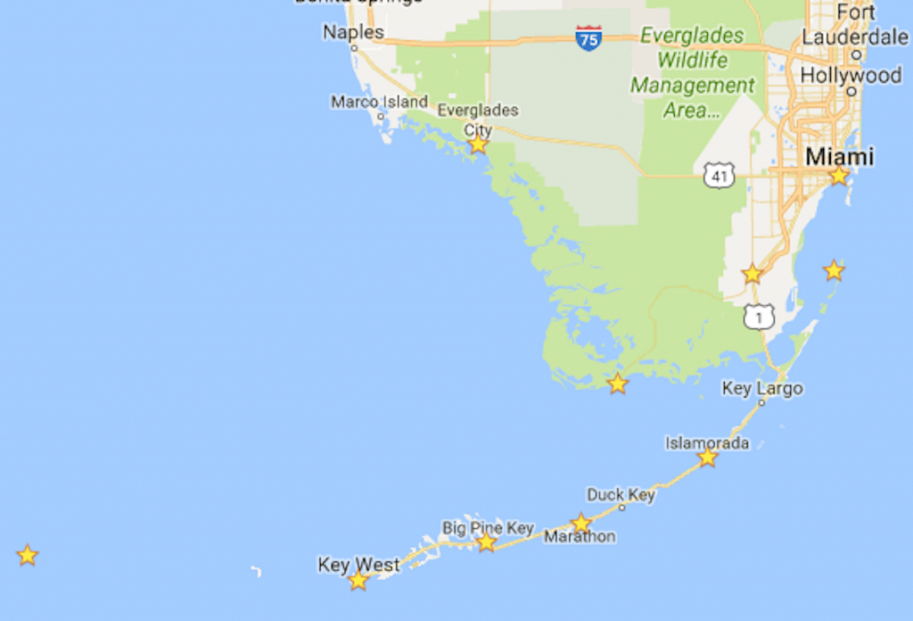 The Ultimate 7-Day Florida National Parks Itinerary - Bearfoot Theory - South Florida National Parks Map