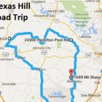The Ultimate Texas Hill Country Road Trip   Driving Map Of Texas Hill Country