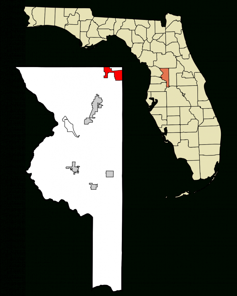 The Villages, Florida - Wikipedia - Road Map Of Lake County Florida