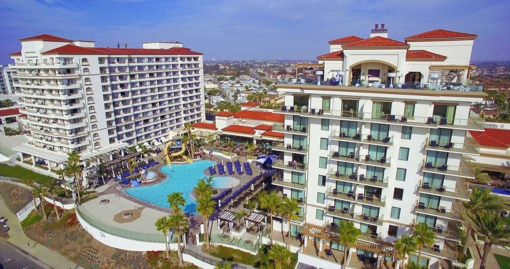 The Waterfront Beach Resort, A Hilton Hotel - Updated 2019 Prices - Map Of Hilton Hotels In California