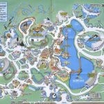 Theme Park Brochures Sea World Orlando   Theme Park Brochures   Seaworld Orlando Park Map Printable