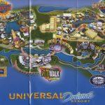 Theme Park Brochures Universal Orlando Resort   Theme Park Brochures   Universal Studios Florida Resort Map
