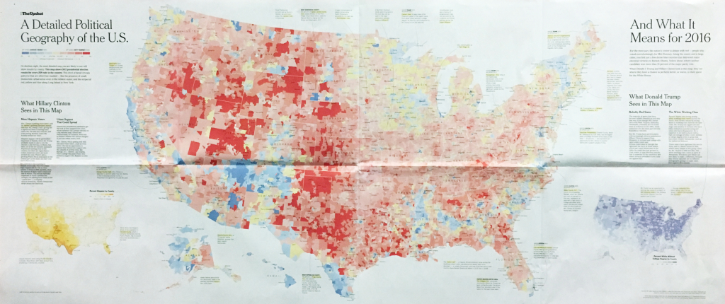 There Are Many Ways To Map Election Results. We've Tried Most Of - 2016 Printable Electoral Map