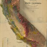 These 2D Turned 3D Maps Are Extraordinary Cartographic Art Pieces   3D Map Of California
