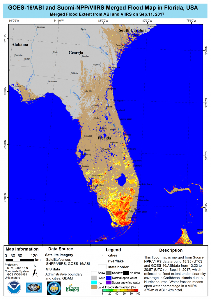 This Is A Flood Map From Hurricane Irma. | Drone Surveys Damage - Fema Flood Maps Indian River County Florida