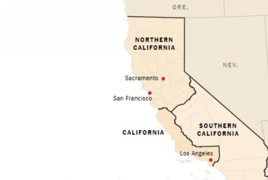 This Plan To Split California Into Three States Just 'cleared Its - Three State California Map