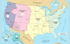 Time Zone Map Of Usa Awesome Printable Map United States ...