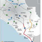Toll Road Agency Proposes New Transportation Option For South County   Mission Viejo California Map