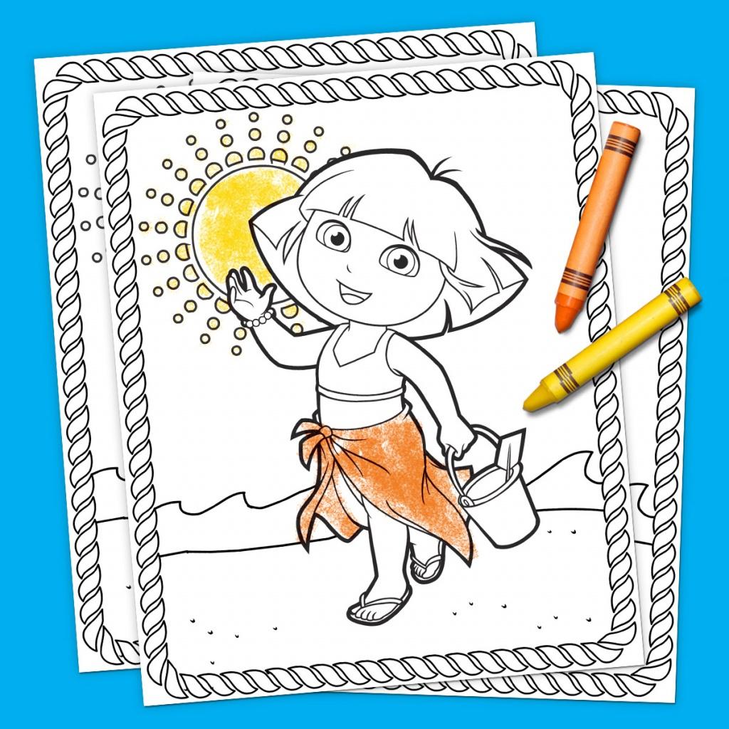 Top 10 Dora The Explorer Printables Of All Time | Nickelodeon Parents - Dora Map Printable