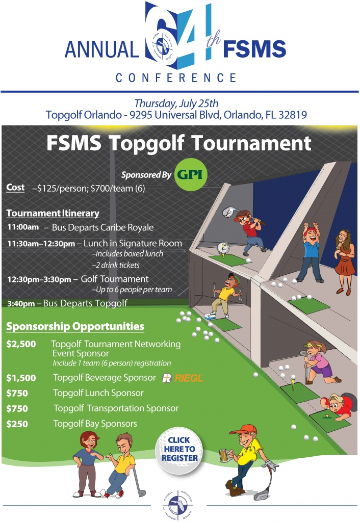Topgolf Tournament - Florida Surveying And Mapping Society