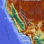 Topographical Map Of California Topographic Make Photo Gallery 867   California Topographic Map