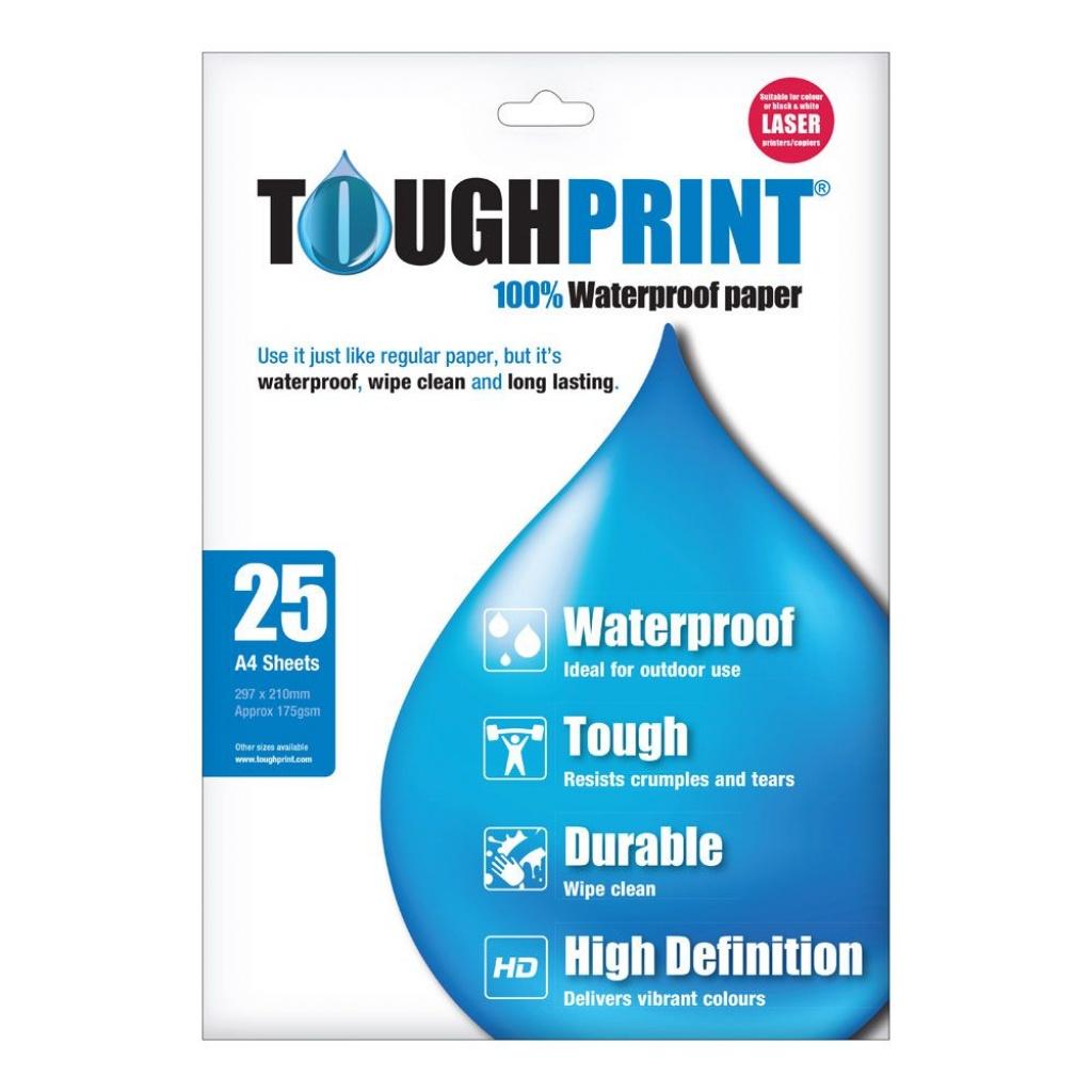 Toughprint Waterproof Paper - Printable Maps By Waterproofpaper Com