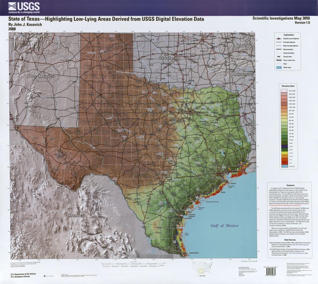 Touringtexas: Texas Maps - Texas Geologic Map Google Earth