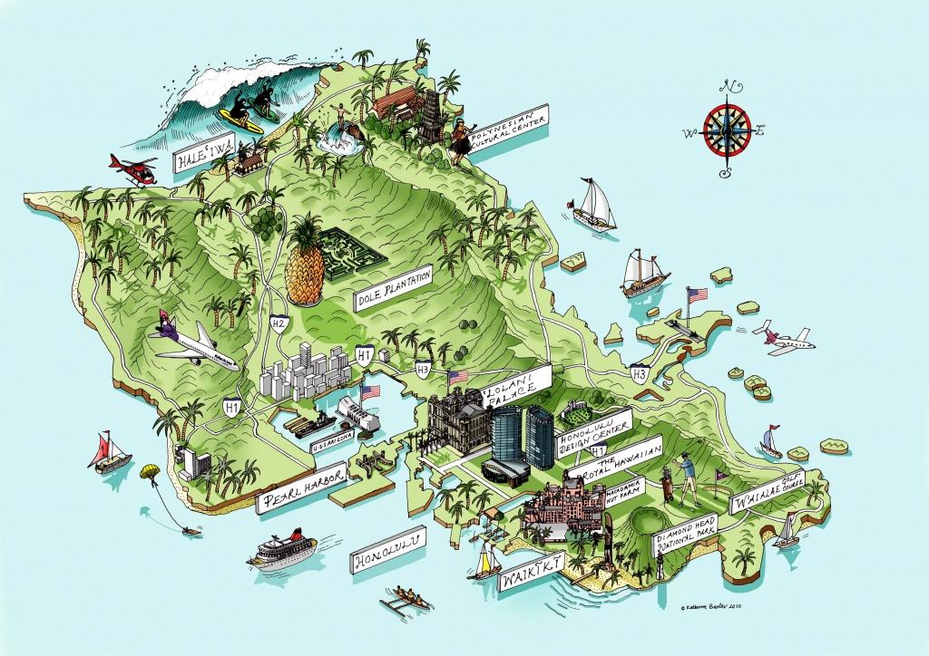 Tourist Map Of Oahu, Hawaii   Map Inspirations   Hawaii Travel, Oahu - Printable Map Of Oahu Attractions