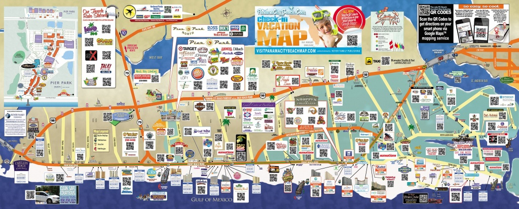 Tourist Map Of Panama City Beach | To The Beach! | Panama City Beach - Panama City And Destin Florida Map