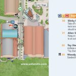 Toy Story Land Map At Walt Disney World   Toy Story Land Florida Map
