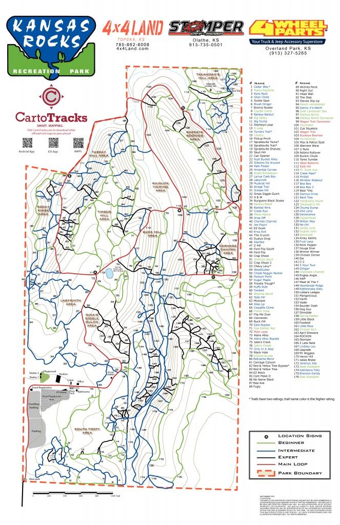 Trail Maps - Ks Rocks Parkks Rocks Park - Printable Trail Maps