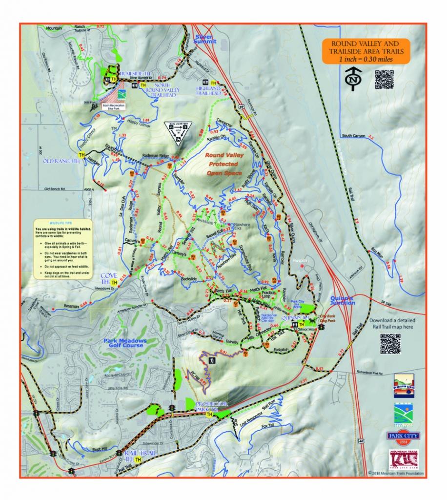 Trail System - Printable Trail Maps