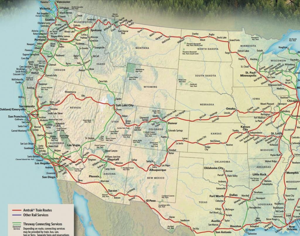 Train Links California State Map California Zephyr Route Map Amtrak - Amtrak California Zephyr Map