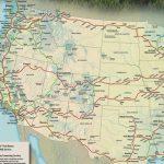 Train Links California State Map California Zephyr Route Map Amtrak   California Zephyr Route Map