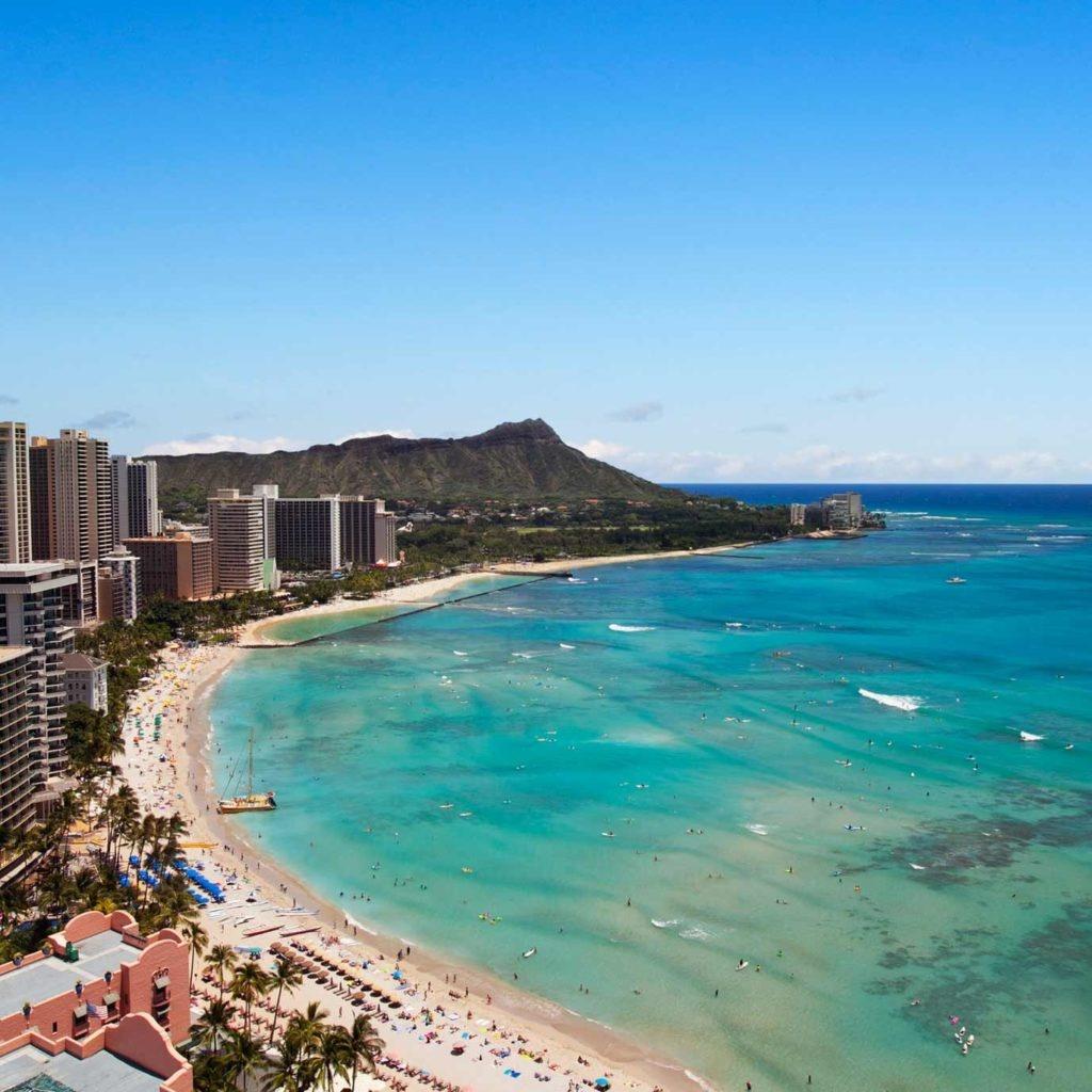 Travel Inspiration - Destination Guide To Hawaii   Marriott Hawaii - Spg Hotels California Map