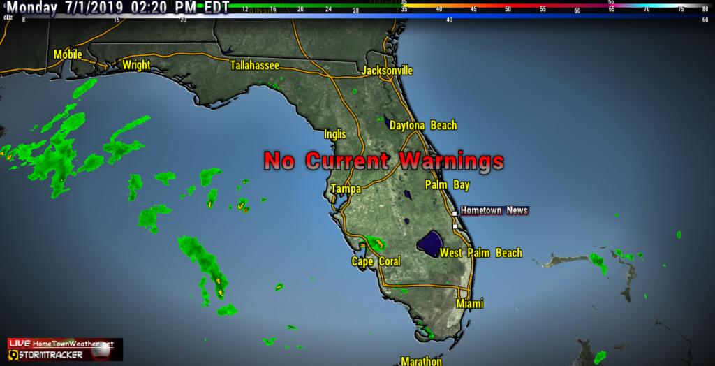 Treasure Coast Radar Weather | East Central Florida Forecast - Treasure Coast Florida Map