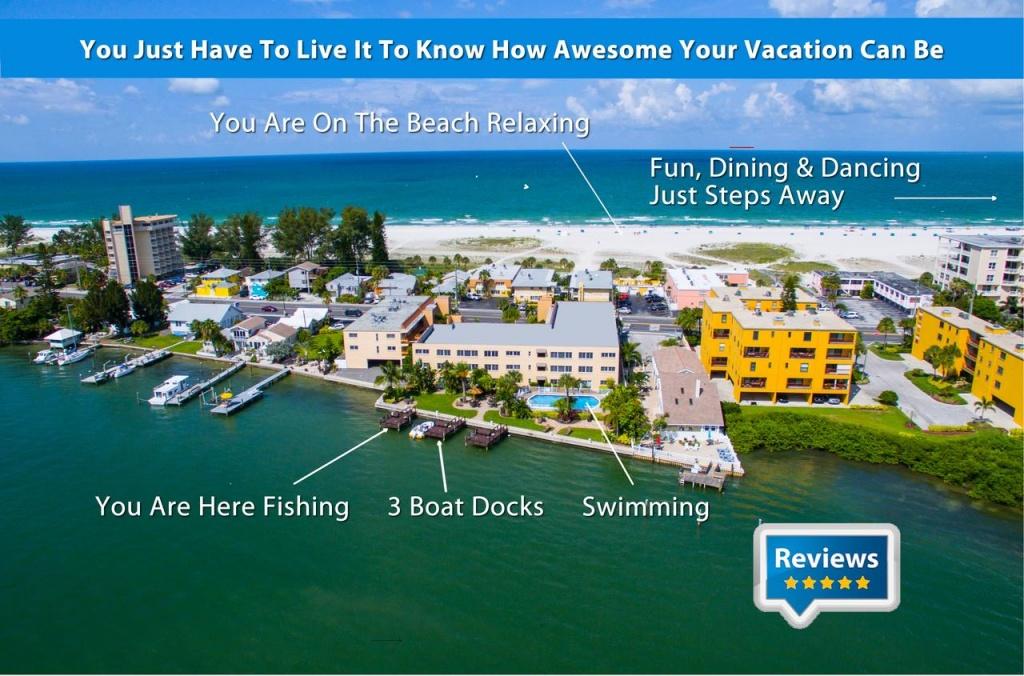 Treasure Island Two Bedroom Condo, St. Pete Beach, Fl - Booking - Street Map Of Treasure Island Florida
