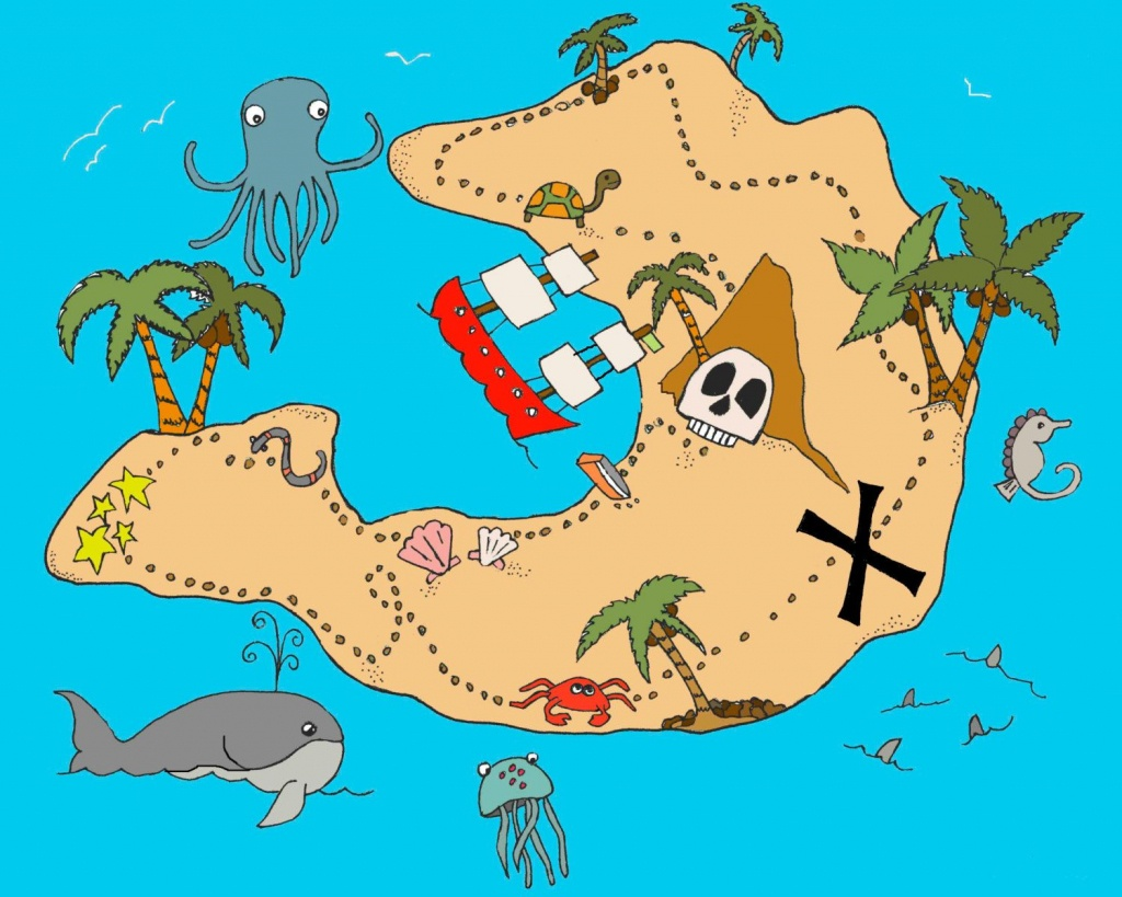 Treasure Map | Baby | Treasure Maps, Pirate Maps, Pirate Treasure Maps - Printable Kids Pirate Treasure Map
