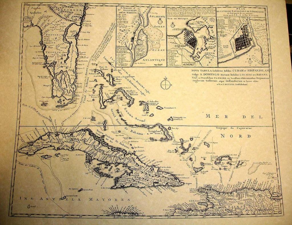 Treasure Maps | Treasure Maps Of Florida And The West Indies | Lost - Street Map Of Treasure Island Florida