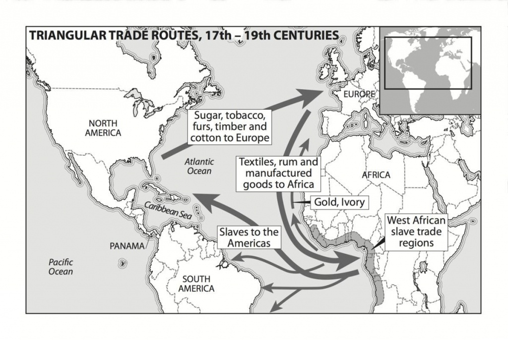 african slave trade triangle