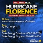 Tropical Storm Florence Power Outages Map: Thousands Without Power   Duke Florida Outage Map