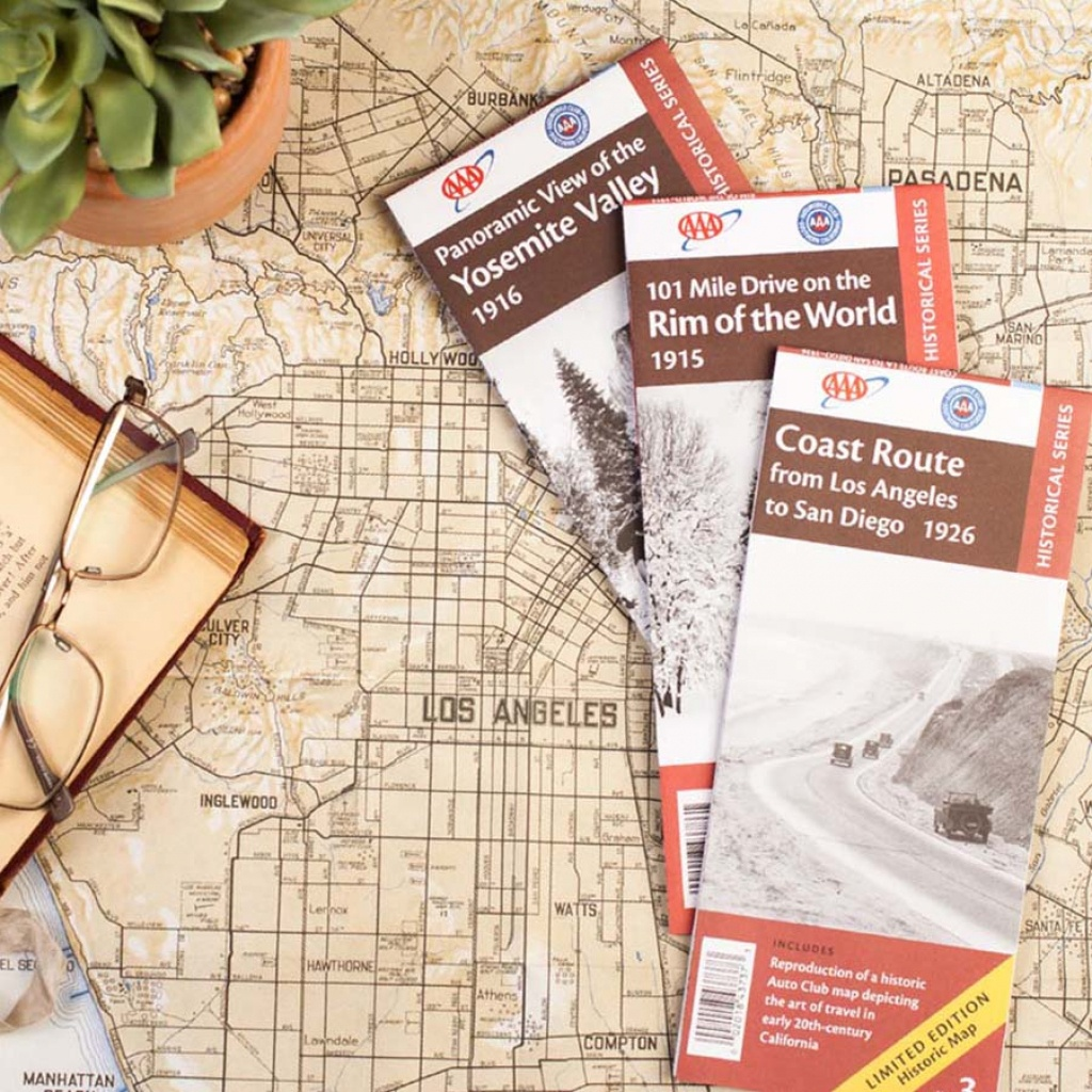 Tuck A Aaa Map In Their Stocking This Holiday - Aaa Texas Maps