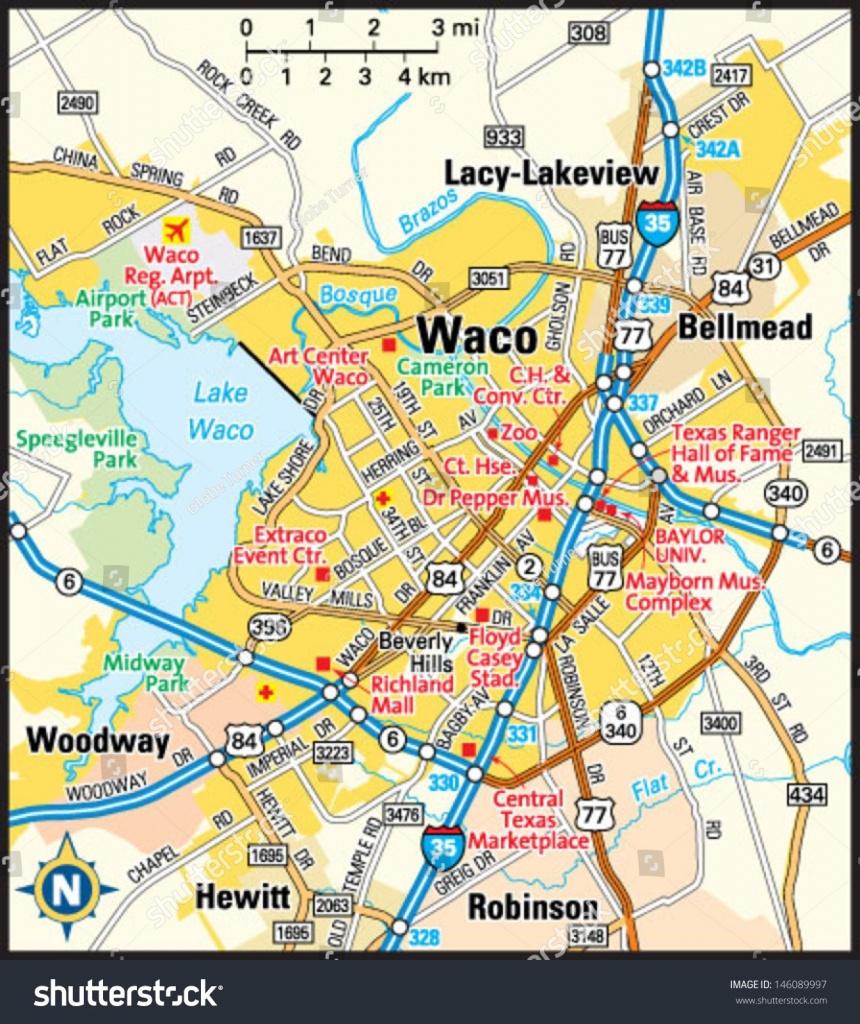 Txu Sanborn Waco 1889 01 Waco Map | Ageorgio - Map Of Waco Texas And Surrounding Area