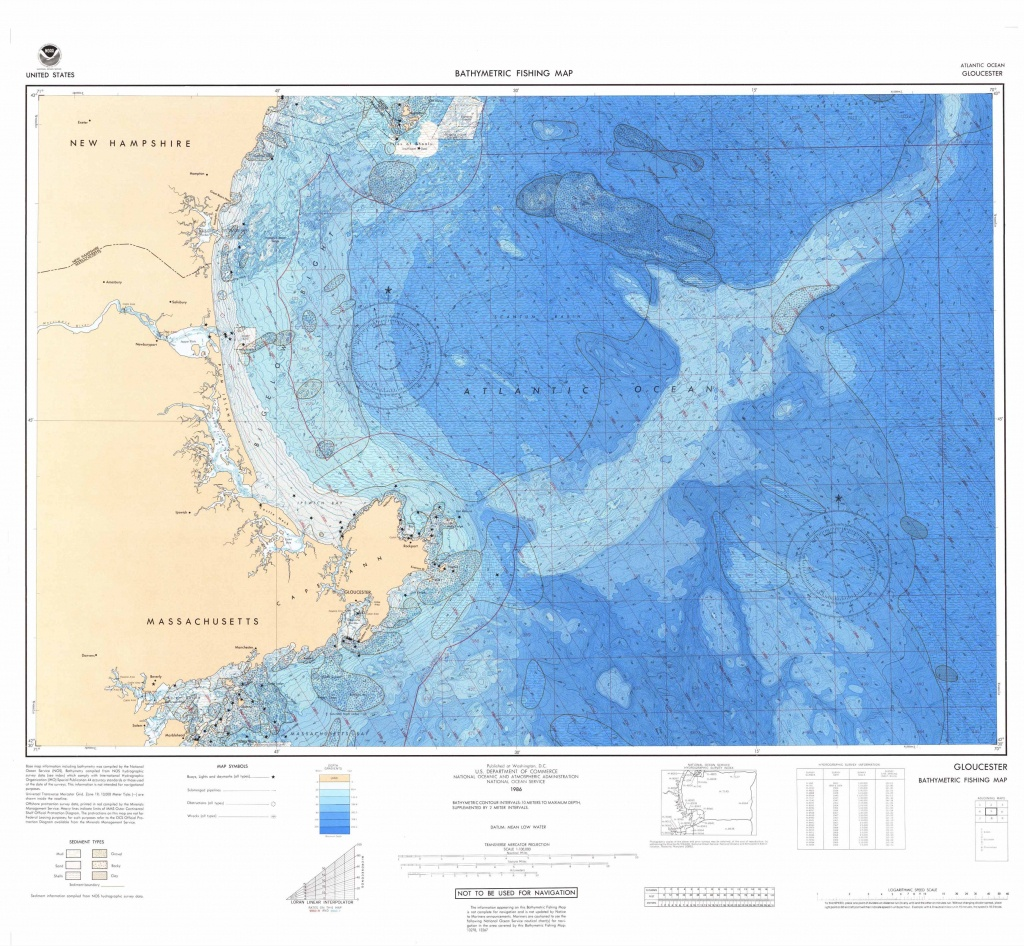 U.s. Bathymetric And Fishing Maps | Ncei - Northern California Fishing Map