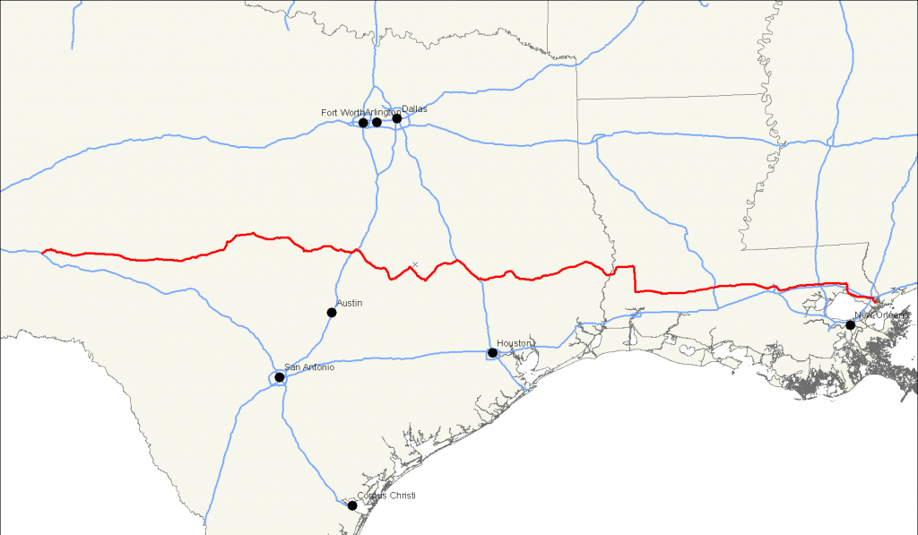U.s. Route 190 - Wikipedia - Fort Hood Texas Map
