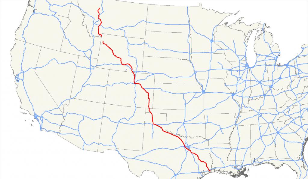 U.s. Route 287 - Wikipedia - Dumas Texas Map