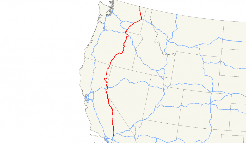 U.s. Route 395 - Wikipedia - Route 395 California Map