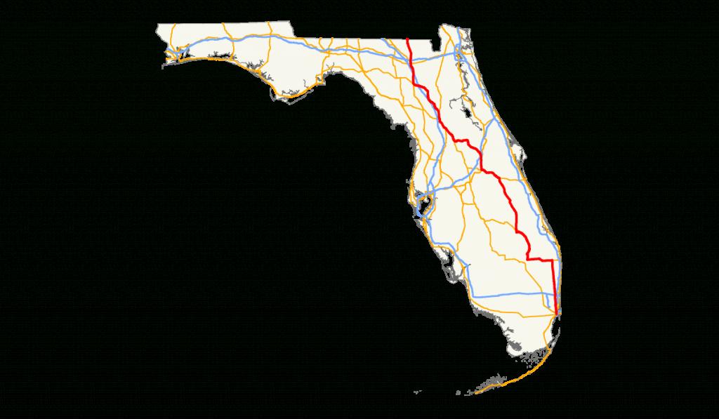 U.s. Route 441 In Florida - Wikipedia - Tamiami Trail Florida Map