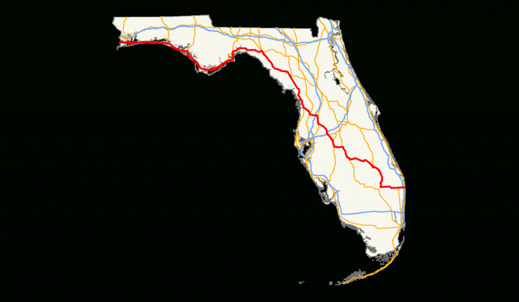 U.s. Route 98 In Florida - Wikipedia - Panama City Florida Map Google