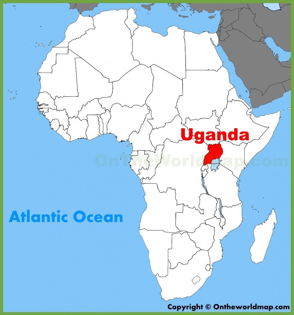 Uganda Maps | Maps Of Uganda - Printable Map Of Uganda