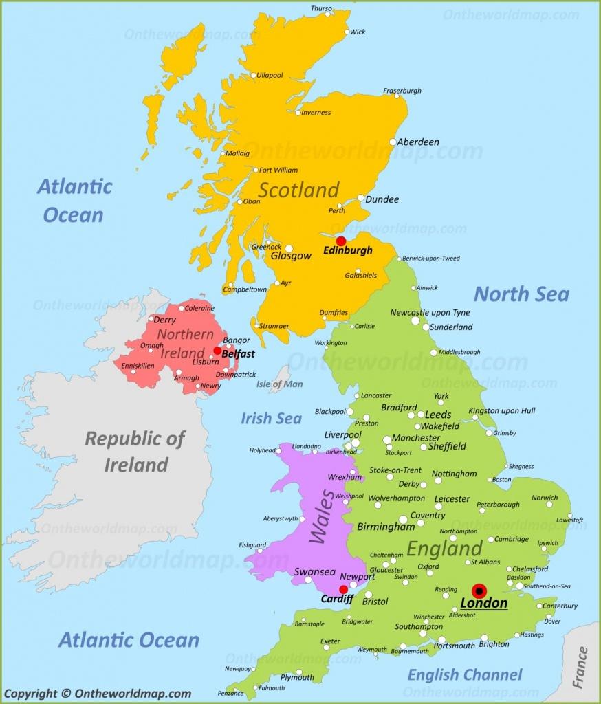 Uk Maps   Maps Of United Kingdom - Printable Road Maps Uk