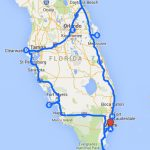 Uncover The Perfect Florida Road Trip   Florida Road Trip Trip Planner Map