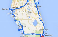 Uncover The Perfect Florida Road Trip – Florida Road Trip Trip Planner Map