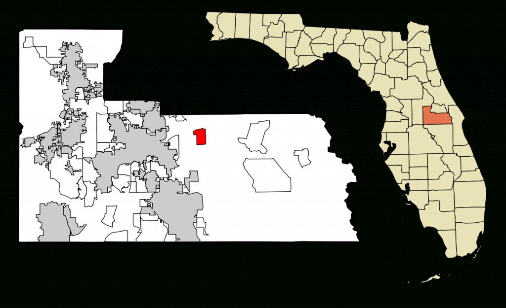 Union Park, Florida - Wikipedia - Winter Park Florida Map