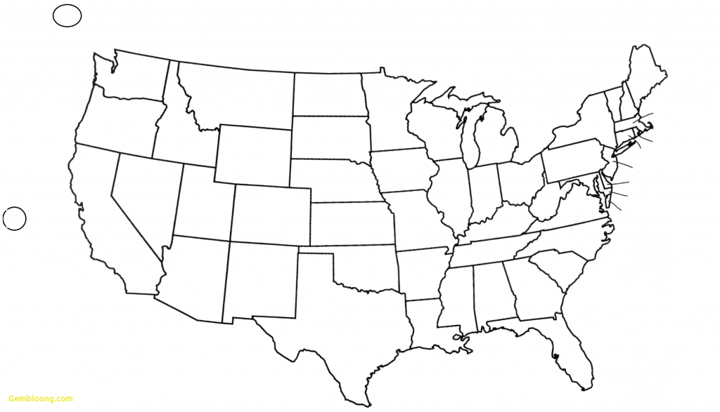 United States Map Blank Outline Fresh Free Printable Us With Cities - Free Printable Map Of The United States