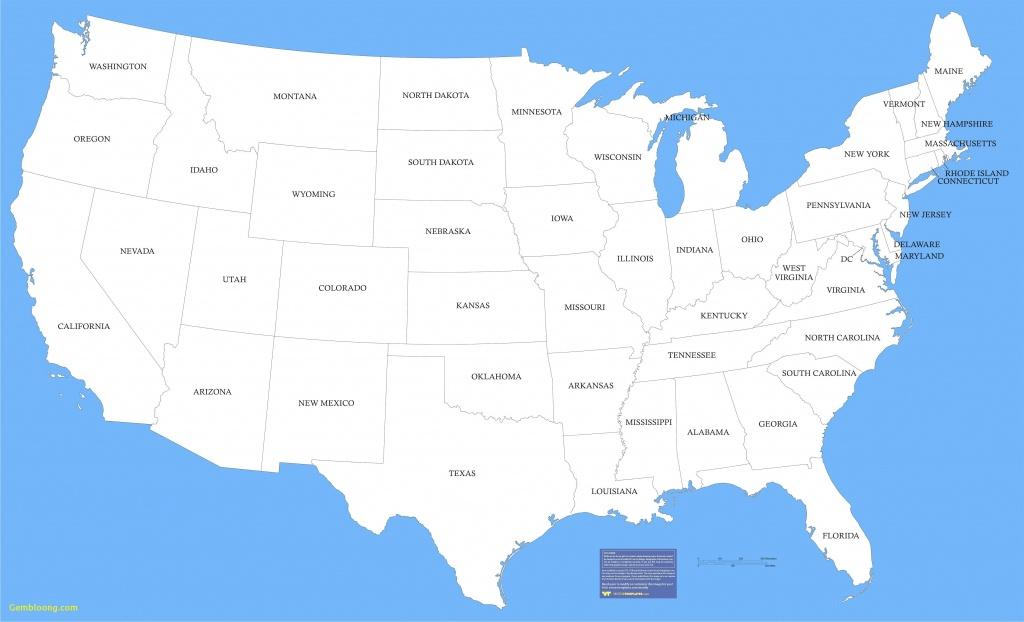 United States Of America - Maplewebandpc - United States Regions Map Printable