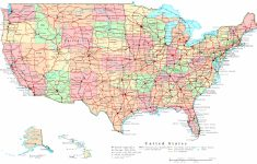 Printable State Road Maps