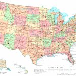 United States Printable Map   Printable Usa Map With Cities